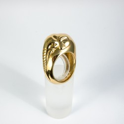 Elefant Ring Gold 750/-