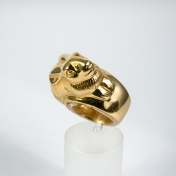 Hasen Ring Gold 750/-