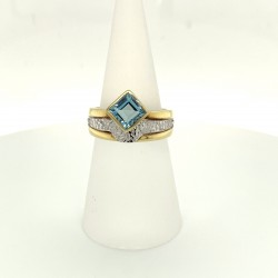 Goldring Aquamarin 1,1 ct (Gelbgold 585)