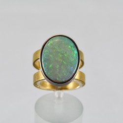 Goldring Opal 7,5 ct (Gelbgold 750)